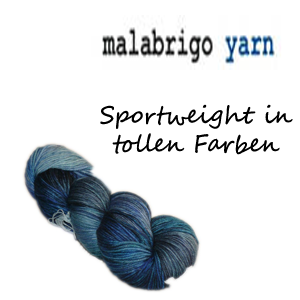 Malabrigo Arroyo Sport Weight Garn