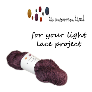 The uncommon Thread Merino Lace